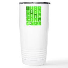CURE Lymphoma Collage Travel Mug