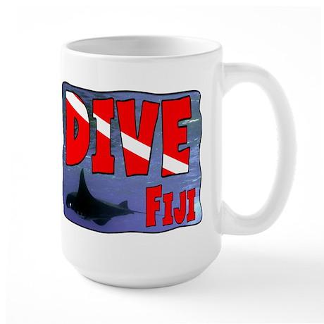 Dive Fiji Large Mug