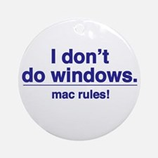 Mac Rules - Ornament (Round)