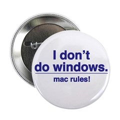Mac Rules - Button (10 pack)