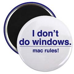 Mac Rules - Magnet (10 pack)