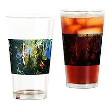 Koi fish Drinking Glass