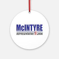 McIntyre 2006 Ornament (Round)