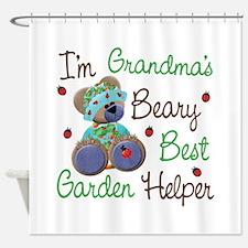 Grandma's Garden Helper Shower Curtain
