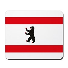 Berlin Flag Mousepad