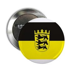 "Baden Wurttemberg Flag 2.25"" Button (10 pack)"