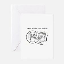 OFFICIAL United Martial Arts  Greeting Cards (Pack