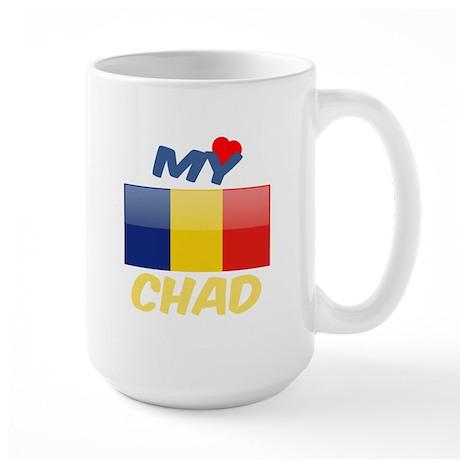 My Love Chad 15 oz Ceramic Large Mug