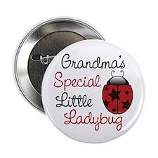 "Grandma's Ladybug 2.25"" Button (10 pack)"