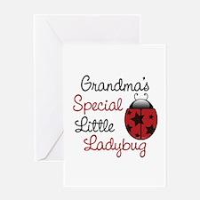 Grandma's Ladybug Greeting Card