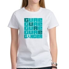 CURE Gynecologic Cancer Collage Tee