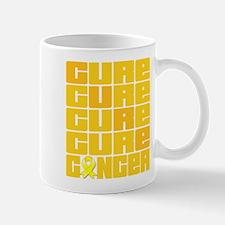 CURE Ewings Sarcoma Collage Mug