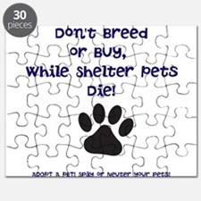 Dont Breed or Buy Puzzle
