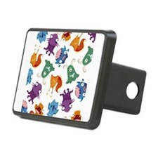 Monster Mash Print Hitch Cover