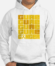 CURE Childhood Cancer Collage Hoodie