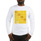 Childhood cancer awareness Long Sleeve T Shirts