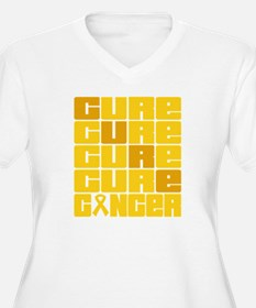 CURE Childhood Cancer Collage T-Shirt