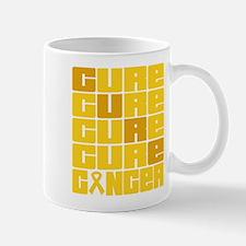 CURE Childhood Cancer Collage Mug