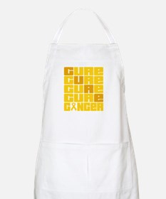 CURE Childhood Cancer Collage Apron
