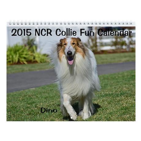 2015 Norcal Collie Rescue Fun Wall Calendar