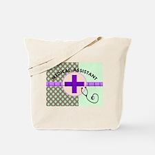 MEDICAL ASSISTANT TOTE BLANKET MINT.PNG Tote Bag