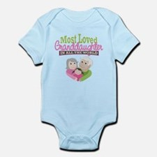 Most Loved Granddaughter Infant Bodysuit
