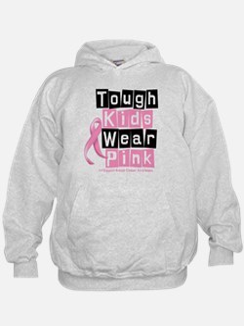 Tough Kids Wear Pink Hoodie