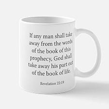 Revelation 22:19 Mug