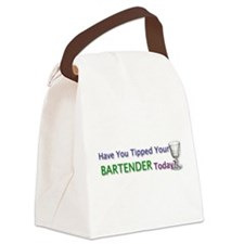 Tip Your Bartender Canvas Lunch Bag