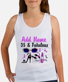 HAPPY 35TH BIRTHDAY Women's Tank Top