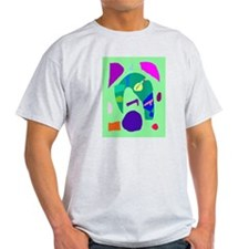 Music Dream Reality Poor Young Old World T-Shirt