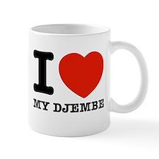 I Love My Djembe Mug