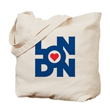 Funny London logo Tote Bag
