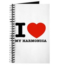 I Love My Harmonica Journal