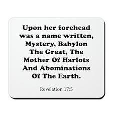 Revelation 17:5 Mousepad