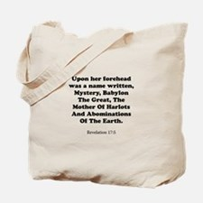 Revelation 17:5 Tote Bag
