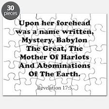 Revelation 17:5 Puzzle
