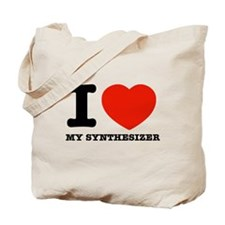 I Love My Synthesizer Tote Bag
