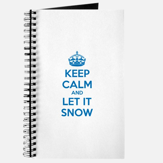 Keep calm and let it snow Journal
