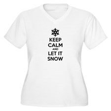 Keep calm and let it snow T-Shirt