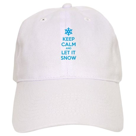 Keep calm and let it snow Cap
