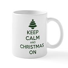 Keep calm and christmas on Mug