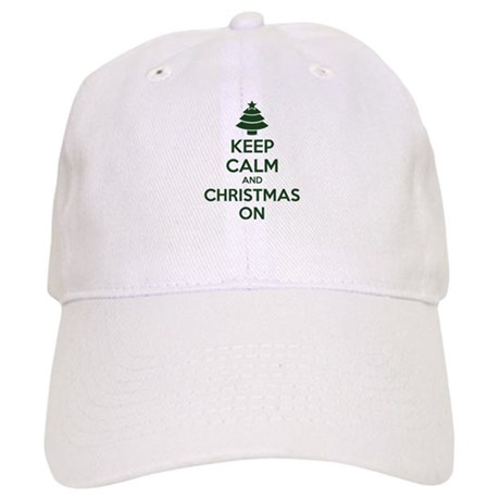 Keep calm and christmas on Cap