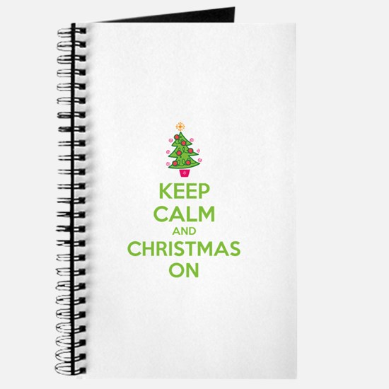 Keep calm and christmas on Journal