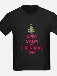 Keep calm and christmas on T