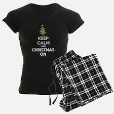 Keep calm and christmas on Pajamas
