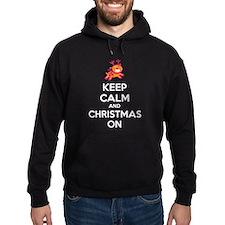 Keep calm and christmas on Hoodie