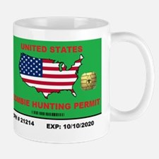 Zombie Hunting Permit Mug