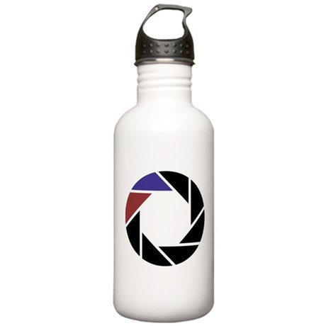 aperture logo sports water bottle by listing store 73372390