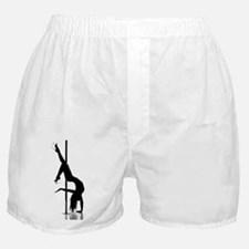 pole dancer 1 Boxer Shorts